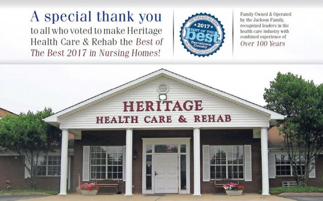 Heritage Health Care & Rehab building
